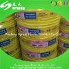 Agriculture de qualité et boyau à haute pression de l'eau de pulvérisation de PVC de jaune de l'eau de jardin