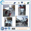 Tray galvanizado Wheelbarrow com Double Wheels (WB6410)