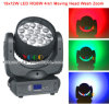 19*12W RGBW 4in1 LED Beam Light Wash Zoom Moving Head