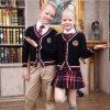 La broderie de 2016 modes adaptent l'uniforme scolaire aux besoins du client