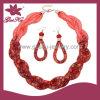 Jóia de cristal vermelha de Earring&Bracelet ajustada (2015 Gus-Fsns-038)