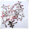 Katholische fromme Halsketten-Kreuz-Anhänger-Metallkruzifixe (IO-ap181)