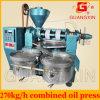 Máquina de múltiples funciones automática de la prensa de aceite de cacahuete de la soja del girasol