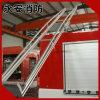 Escada de fogo resistente