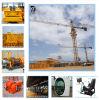 QTZ125 Tower Crane Max 8t Capacidade Tem 60m Arm Tower Crane