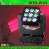 éclairage intelligent principal mobile léger du DJ de Theatrical de matrice de 4in1 DEL
