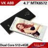 Téléphone cellulaire du dual core 1.3GHz de la bonne qualité 4.7inch Mtk6572