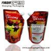 Qualität 1L! Fastfood- Beutel der Aluminiumfolie-1L mit Ecktülle (DQ0236)
