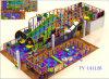Kind-stellt Innenspielplatz-Plastik Struktur-Geräten-Labyrinth her