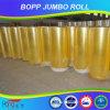 Yellowsih BOPP jumbo Roll Tape