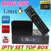 Система Linux Mag 250 установленной верхней коробки предложения IPTV фабрики сразу включая Mag 254 Mag250 учета IPTV