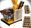 Hr1-25 Low Cost Clay Soil Brick Machine Small Construction Machine