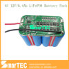 4s 12V 6.4ah LiFePO4 Battery Pack met Communication