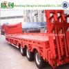 3つの車軸Saleのための13m 60tons Low Bed Semi Trailer