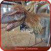 Traje de goma del dinosaurio del silicio de tamaño natural de la alta calidad