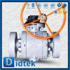 Vávula de bola dura del sello del asiento seguro del Nace Mr-0175 SS316 del fuego de Didtek