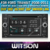 フォードTransit 2006-2011年のCarのためのWitson Car DVD DVD GPS 1080P DSP Capactive Screen WiFi 3G Front DVR Camera