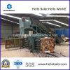 Prensa da máquina de empacotamento hidráulica horizontal/papel Waste