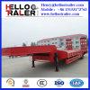 China-Tri Welle 60 Tonnen Dienstschlußteil-niedrige Bett-Schlussteil-