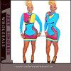 Robe de Bodycon Clubwear de célébrité de couleur mélangée par mode sexy (TP4201)