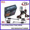 HID Kit para Car 12V 35W 3000k Xenon Set