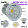 LED Reccessedの軽い小型穂軸LED Downlight