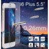 "Nuevo Premium 9h 0.26m m Tempered Glass Screen Protector 2.5D Round Ege para 5.5 "" iPhone 6"