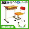 A mesa e a cadeira de madeira do estudante da mobília de escola ajustam-se (SF-11S)
