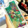 Sandglass Crystal Caso Bling Water Beautiful Hard Covers para iPhone5