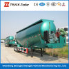 Compressor와 Engine를 가진 60m3 Capacity Cement Transportation Tank 70 M3 Bulk Cement Tanker