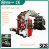 6 Plástico Color lleva el bolso impresión flexográfica Máquina (CE)