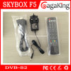 DVB-S Box F5 en stock Made - dedans - la Chine