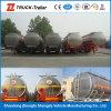 45000L de triBrandstof van de As en de Aanhangwagen van de Vrachtwagen van de Tanker van de Ruwe olie