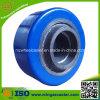 Pequeña rueda del poliuretano 75m m, rueda del rodamiento de bolitas