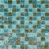 8m m Swimming Pool Ice Crack Glass Mosaic (VMG8301)