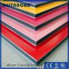 Hoja de revestimiento ACP con tratamiento de superficie de mármol para muro cortina