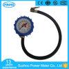 indicateur de pression de pneu de 2.5  63mm avec le boyau en caoutchouc