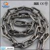 Chaîne de lien standard d'acier inoxydable de Ss304 DIN766