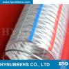 Boyau renforcé transparent de fil d'acier de PVC de Hyrubbers/boyau en plastique flexible de PVC de tube de pipe