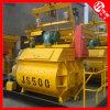 Uno mismo que carga el mezclador concreto (JS500)