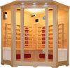 Una sauna di legno d'angolo delle 4 persone (SMT-C040)