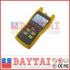 Tester di potenza ottico della fibra tenuta in mano di alta qualità