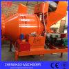Mobile diesel Concrete Mixer Price con Charging Capacity 500L