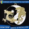 Prefabbricato con la medaglia su ordinazione del metallo