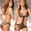Женское бельё горячего нижнего белья конструкции леопарда сбывания симпатичного сексуальное для женщин