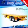 경쟁적인 2/3대의 반 차축 평상형 트레일러 콘테이너 트레일러 트럭 트레일러