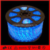 110V Waterproof Blue Round LED Rope Light