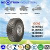 Chariot élévateur Skid Steer Solid Tire, OTR Tire avec BRI 12.00r24