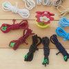 Цветастые эластичные веревочки, изготовление упругого троса