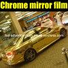 Пленка винила изменения цвета автомобиля золота зеркала крома